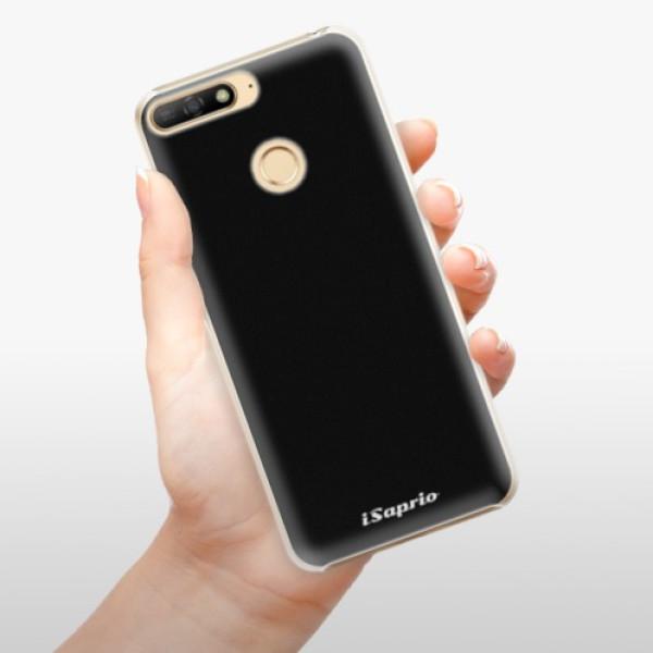 Plastové pouzdro iSaprio - 4Pure - černý - Huawei Y6 Prime 2018