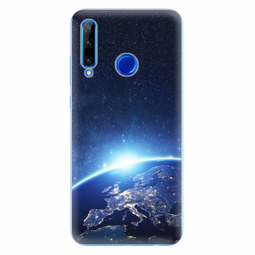 Silikonové pouzdro iSaprio - Earth at Night - Huawei Honor 20 Lite