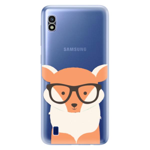 Odolné silikonové pouzdro iSaprio - Orange Fox - Samsung Galaxy A10