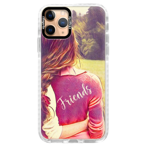 Silikonové pouzdro Bumper iSaprio - BF Friends - iPhone 11 Pro