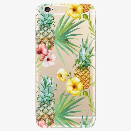 Silikonové pouzdro iSaprio - Pineapple Pattern 02 - iPhone 6/6S