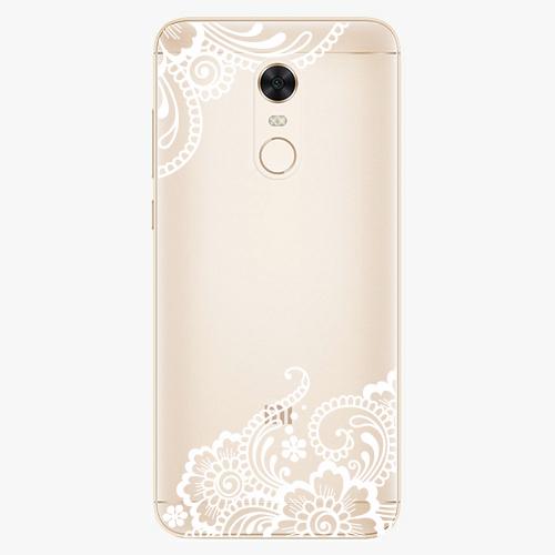 Plastový kryt iSaprio - White Lace 02 - Xiaomi Redmi 5 Plus