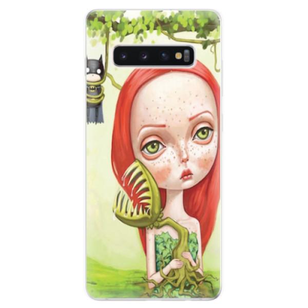 Odolné silikonové pouzdro iSaprio - Poison - Samsung Galaxy S10+