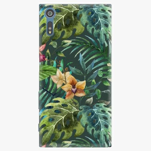 Plastový kryt iSaprio - Tropical Green 02 - Sony Xperia XZ