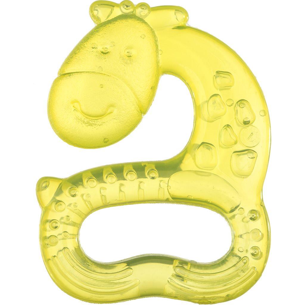 Chladící kousátko Akuku žirafka - žlutá