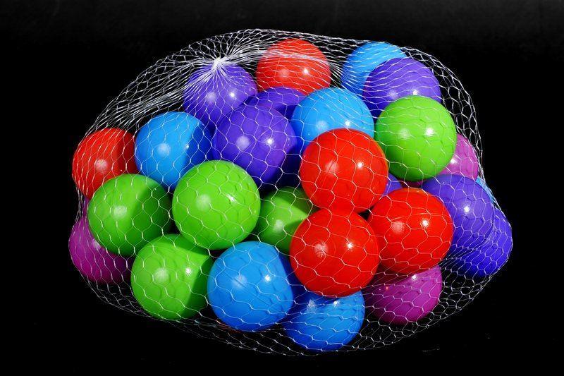 Plastové míčky 100 ks (7 cm)