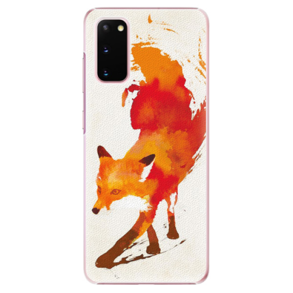 Plastové pouzdro iSaprio - Fast Fox - Samsung Galaxy S20
