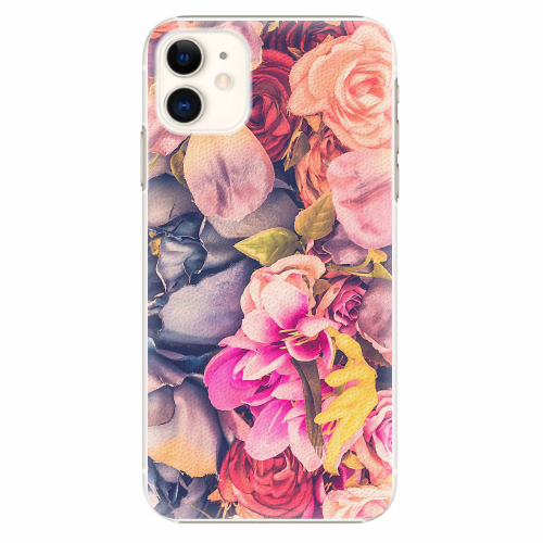 Plastový kryt iSaprio - Beauty Flowers - iPhone 11