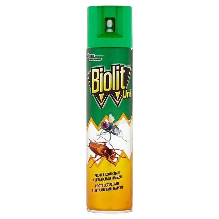 UNI 007 sprej proti létajícímu a lezoucímu hmyzu 400 ml