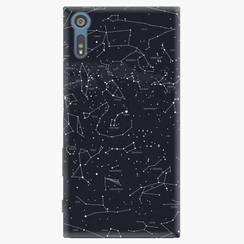 Plastový kryt iSaprio - Night Sky 01 - Sony Xperia XZ