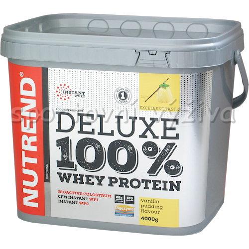 Deluxe 100% Whey - 4000g-jahodovy-cheesecake