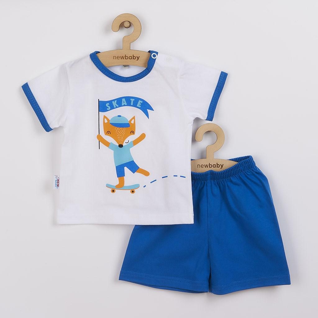 Kojenecká souprava tričko a kraťásky New Baby Liška