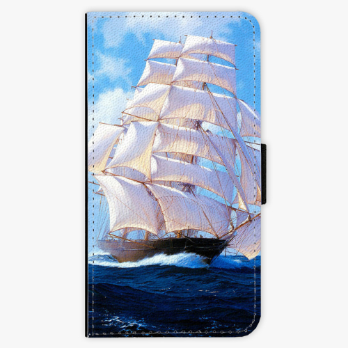 Flipové pouzdro iSaprio - Sailing Boat - Huawei Ascend P8 Lite