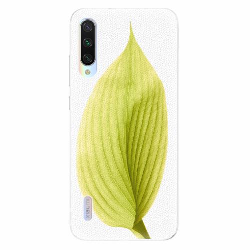 Silikonové pouzdro iSaprio - Green Leaf - Xiaomi Mi A3