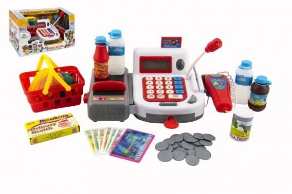 pokladna-digitalni-plast-30cm-s-doplnky-na-baterie-se-zvukem-se-svetlem-v-krabici