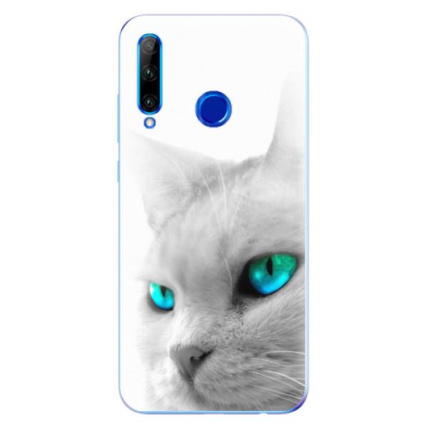 Odolné silikonové pouzdro iSaprio - Cats Eyes - Huawei Honor 20 Lite