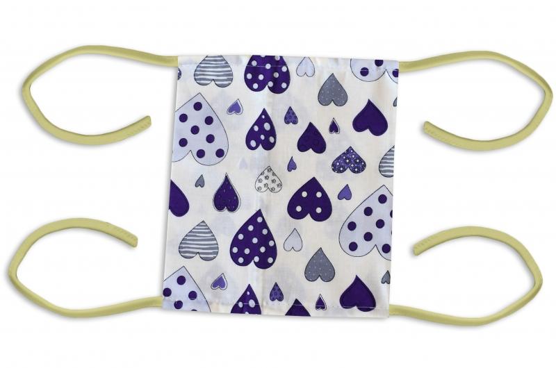 Bavlněná rouška, dvouvrstvá s kapsou - pánské motivy