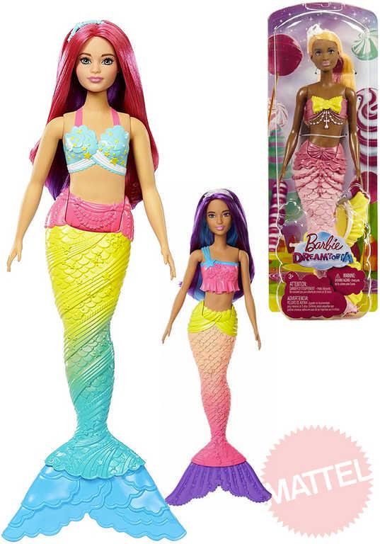MATTEL BRB Panenka Barbie 30 cm mořská panna - 4 druhy