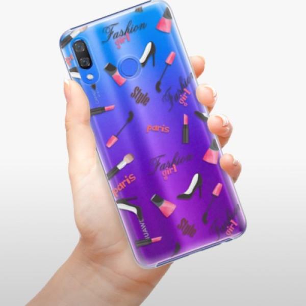 Plastové pouzdro iSaprio - Fashion pattern 01 - Huawei Y9 2019