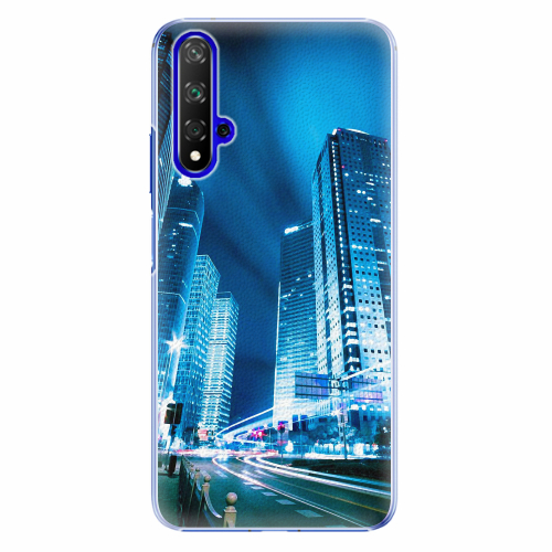 Plastový kryt iSaprio - Night City Blue - Huawei Honor 20
