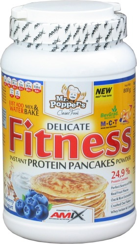 Fitness Protein Pancakes - 800g-blueberry-yogurt