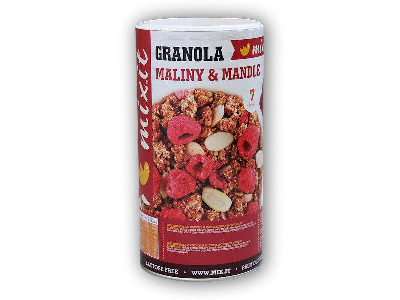 Granola z pece - Maliny a <b>mandle</b> 440g