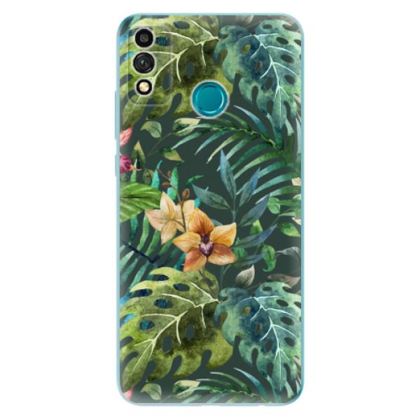 Odolné silikonové pouzdro iSaprio - Tropical Green 02 - Honor 9X Lite