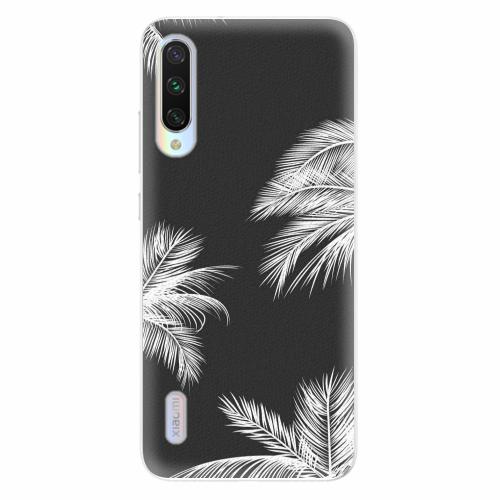 Silikonové pouzdro iSaprio - White Palm - Xiaomi Mi A3