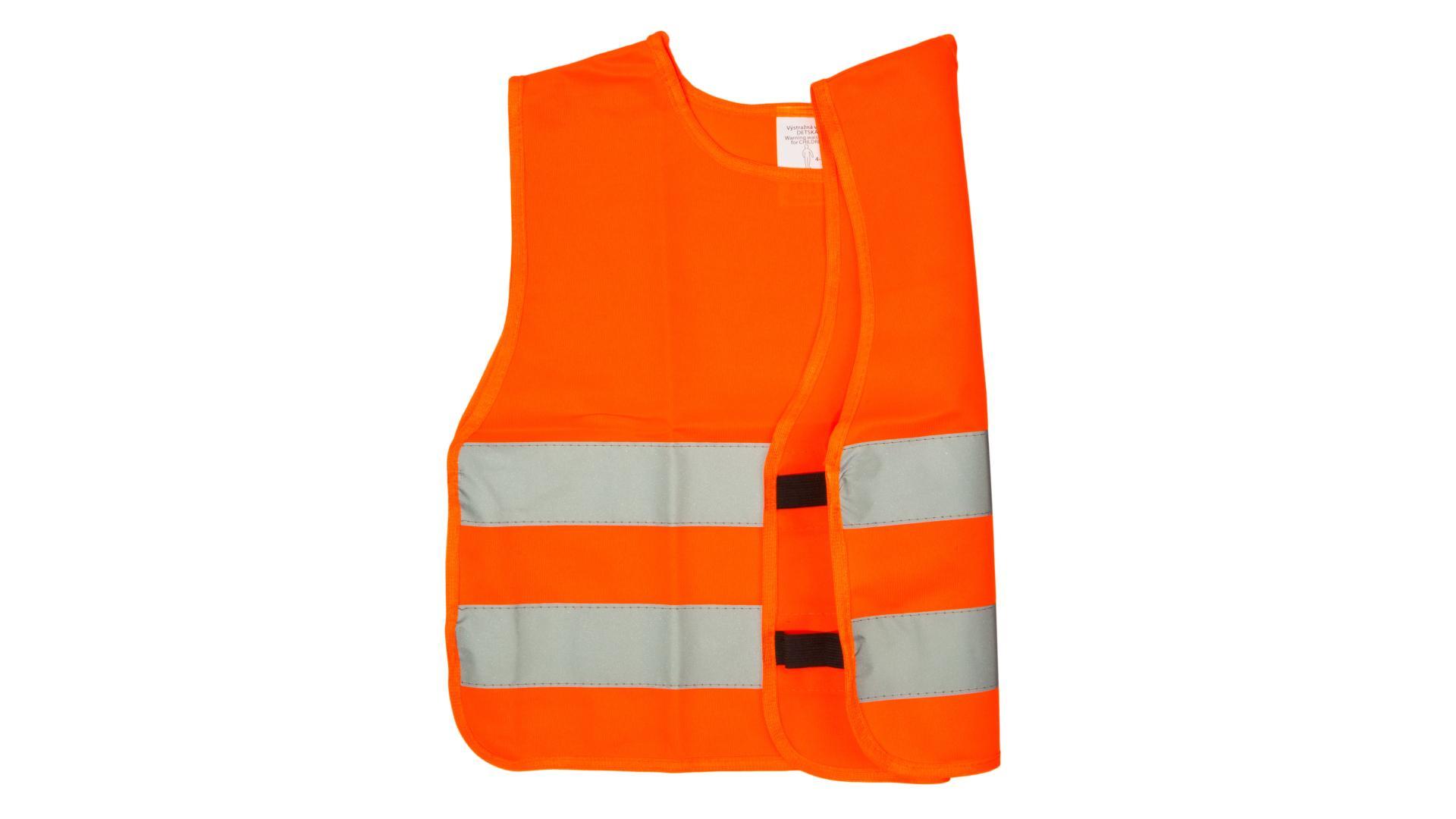 4CARS Reflexní vesta dětská oranžová