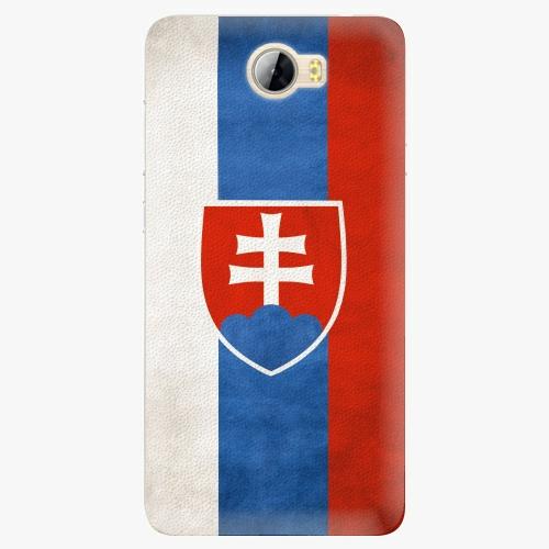 Plastový kryt iSaprio - Slovakia Flag - Huawei Y5 II / Y6 II Compact