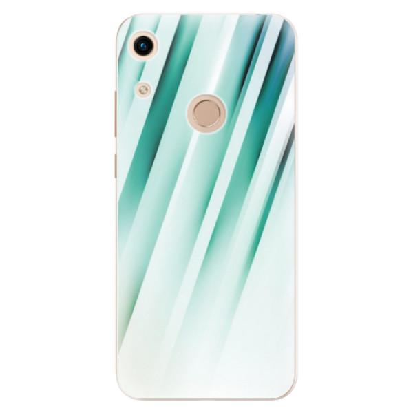 Odolné silikonové pouzdro iSaprio - Stripes of Glass - Huawei Honor 8A