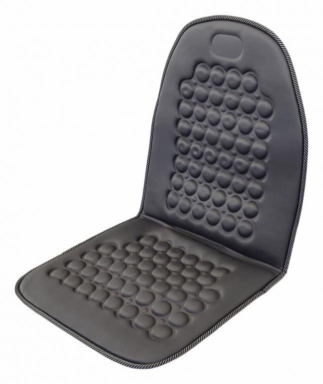 Potah sedadla masážní s magnety - šedý