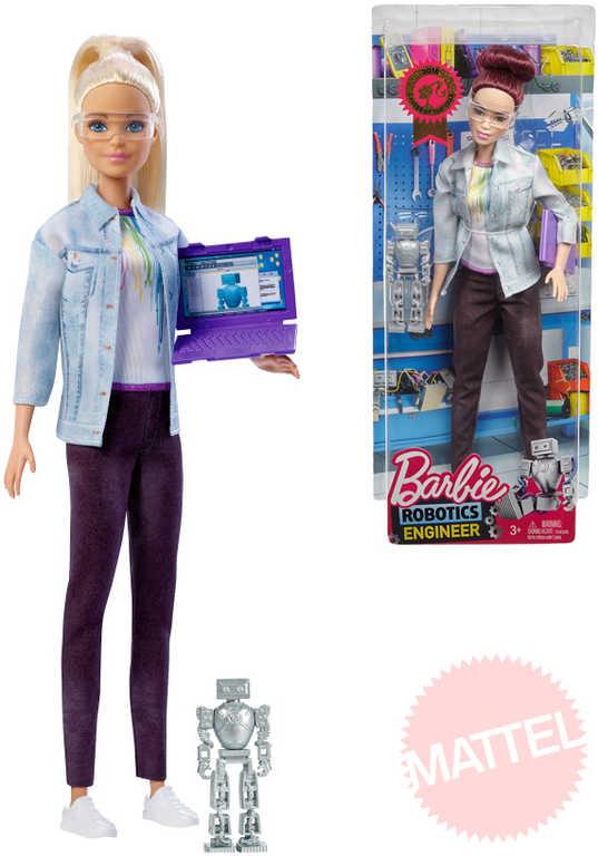 MATTEL BRB Panenka Barbie inženýrka robotiky tématický set s doplňky 4 druhy