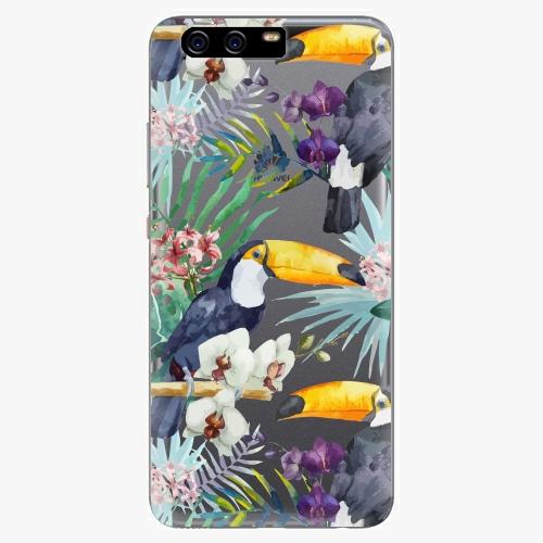 Plastový kryt iSaprio - Tucan Pattern 01 - Huawei P10 Plus