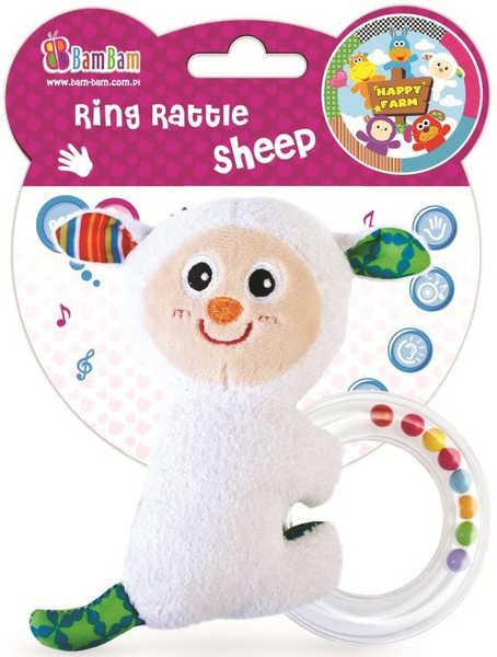 ET BAM BAM Chrastitko s kuličkami Ovečka Baby Pro miminko