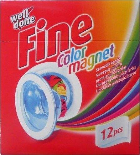 Fine Color magnet ubrousky pohlcující barvu 12 ks