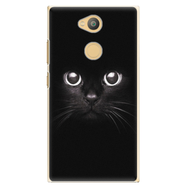Plastové pouzdro iSaprio - Black Cat - Sony Xperia L2