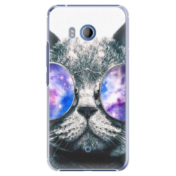 Plastové pouzdro iSaprio - Galaxy Cat - HTC U11