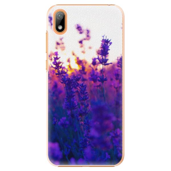 Plastové pouzdro iSaprio - Lavender Field - Huawei Y5 2019