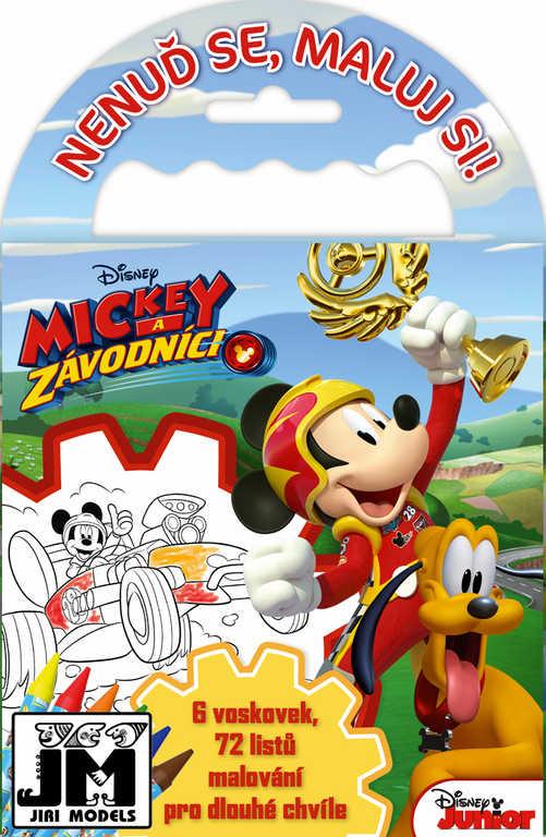 JIRI MODELS Omalovánky na cesty Disney Mickey Mouse