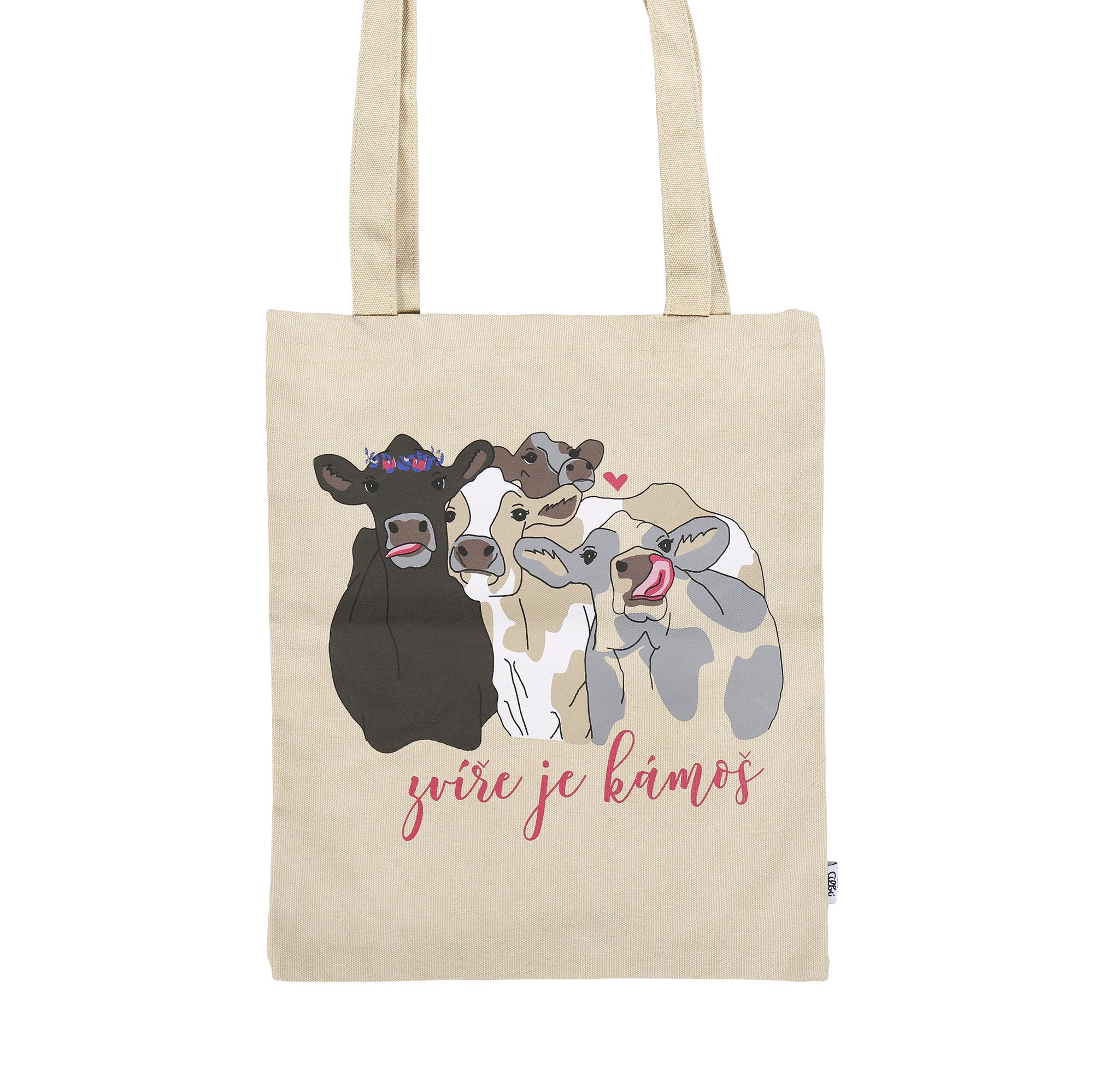Plátěná taška - Zvíře je kámoš