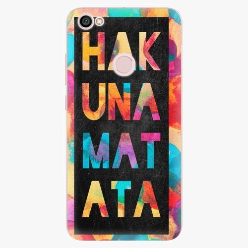 Plastový kryt iSaprio - Hakuna Matata 01 - Xiaomi Redmi Note 5A / 5A Prime