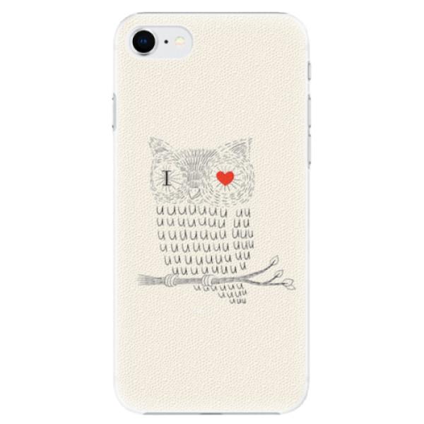 Plastové pouzdro iSaprio - I Love You 01 - iPhone SE 2020