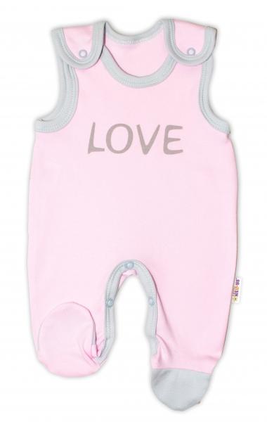 Kojenecké bavlněné dupačky Baby Nellys, Love