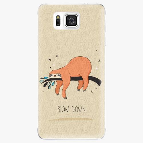 Plastový kryt iSaprio - Slow Down - Samsung Galaxy Alpha