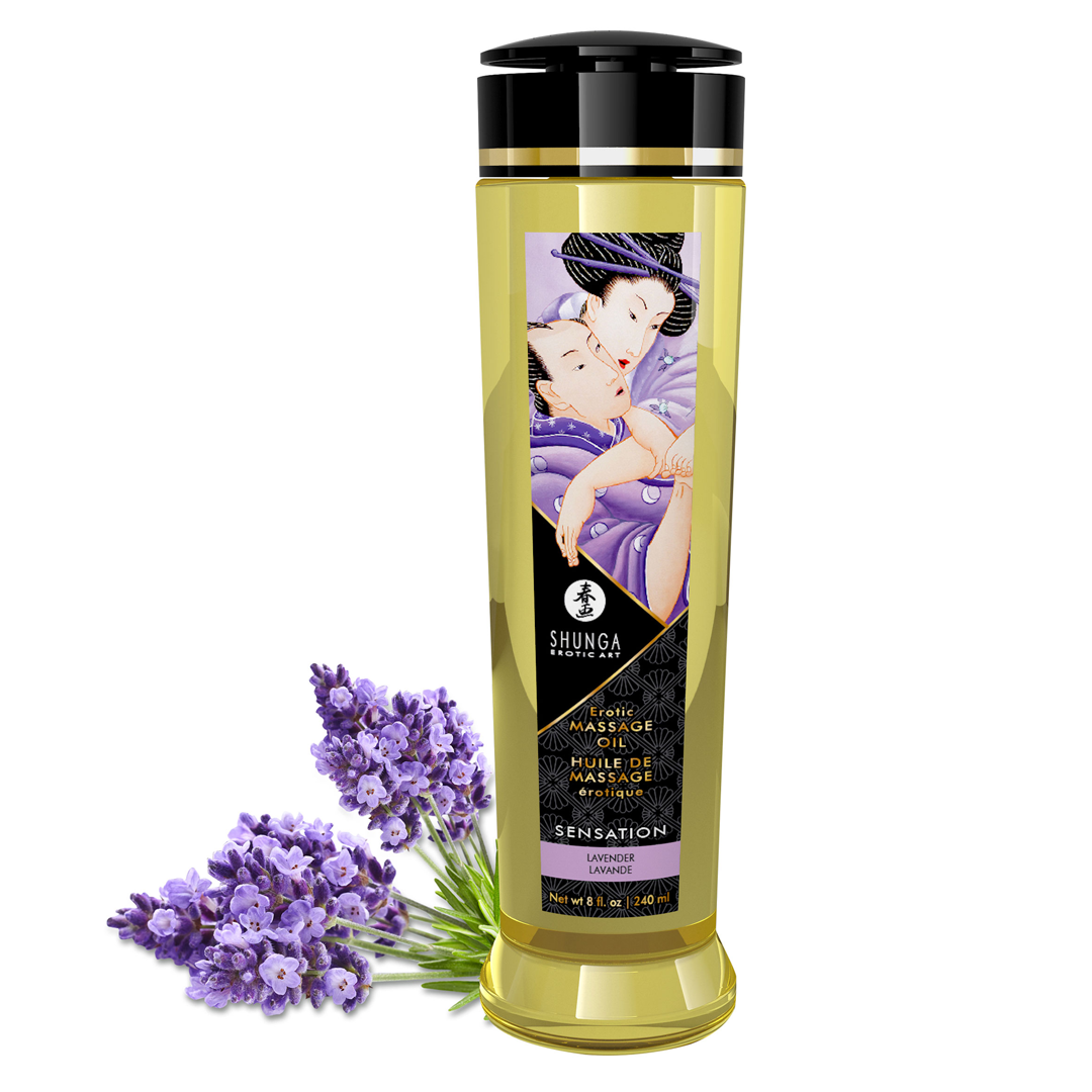 Shunga - Massage Oil Sensation Lavender