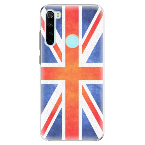Plastové pouzdro iSaprio - UK Flag - Xiaomi Redmi Note 8