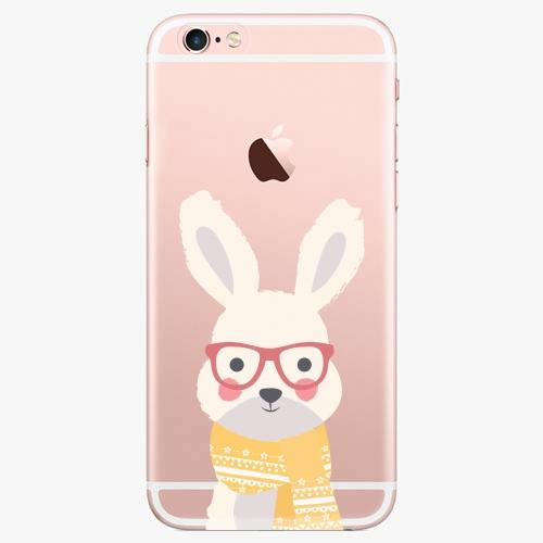 Silikonové pouzdro iSaprio - Smart Rabbit - iPhone 7