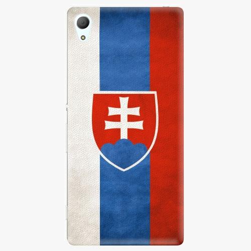 Plastový kryt iSaprio - Slovakia Flag - Sony Xperia Z3+ / Z4