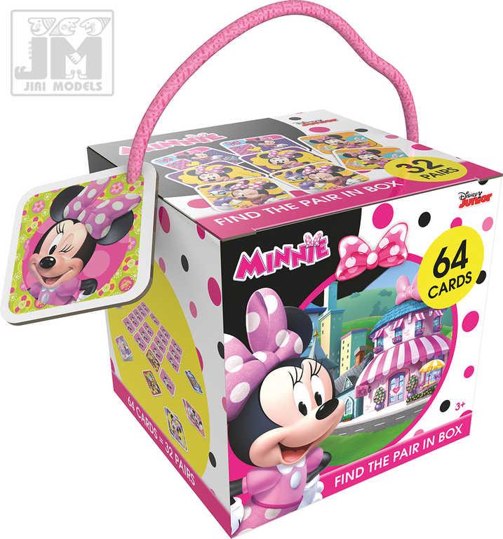 JIRI MODELS Pexeso na cesty Disney Minnie Mouse